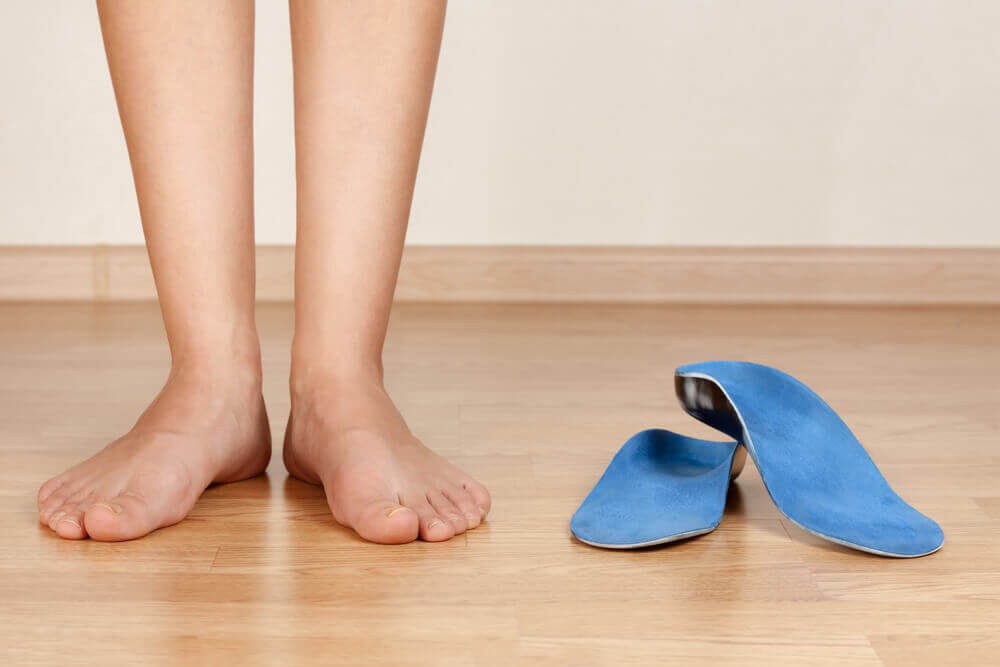 how to stop wearing orthotics